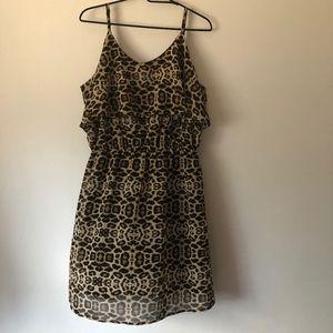 Indulge Animal Print Dress